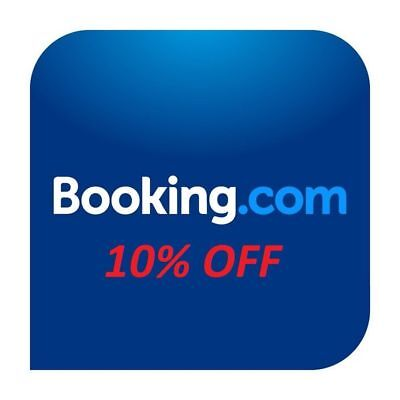 Booking.com New User 10% Refund After Your Stay