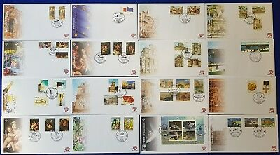 2011/2014 Malta 16 FDC's First Day Covers + SHC Special Hand Cancel