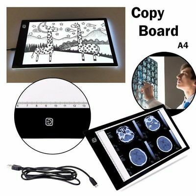 LED 5D Diamond Painting  Board DIY Rhinestone Embroidery Dimmable 3.5mm A4 LK