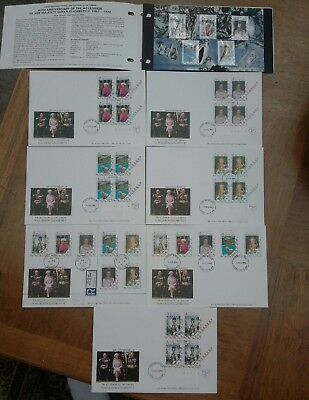 Isle of Man fdc collection QE11 40th anni.