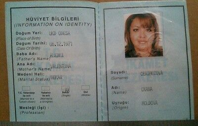 Turkey Document Residence Permit For Foreigners