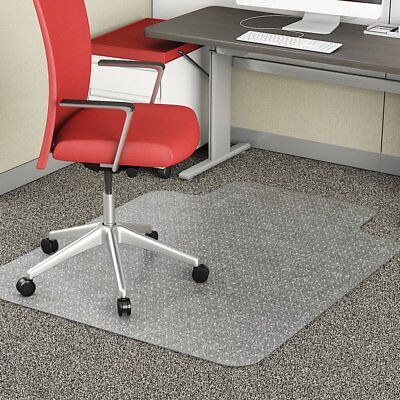 2mm Carpet Floor Office Work Chair Mat Thick Vinyl Plastic Chairmat 1200x900mm