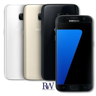 Samsung Galaxy S7 SM-G930F - 32GB  SILVER UNLOCKED GSM International Smartphone