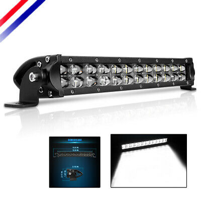 "10""inch Super Bright Single Row 6000K LED Work Light Bar Spot Beam Driving 12""in"
