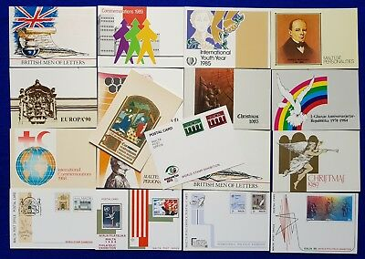 1980's <1990's  Malta Lot/Collection Of 18 UNUSED ES Occasion Cards.Postal Cards