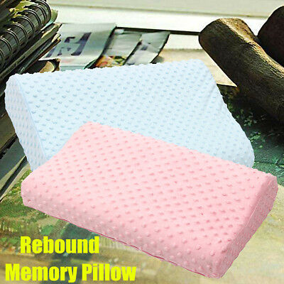 3 Sizes Memory Foam Bed Wedge Pillow Cushion Neck Back Support Washable Cover
