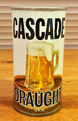 Cascade Draught. 13FL.OZ. Straight Steel.Beer Can. x 1