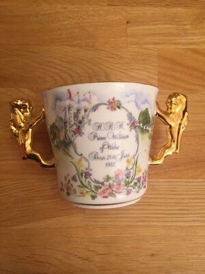 Paragon Royal Loving Cup, H.R.H. Prince William of Wales, 21st June 1982