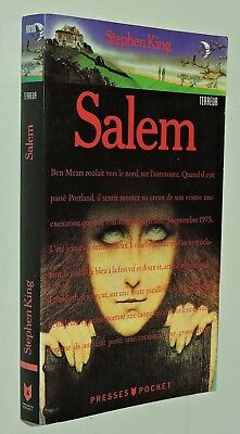 SALEM - Stephen King - PRESSES POCKET 1991 (ed. francese)