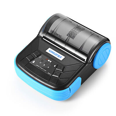 GOOJPRT MTP - 3 Portable 80mm Bluetooth 2.0 Android Thermal POS Printer ESC /POS