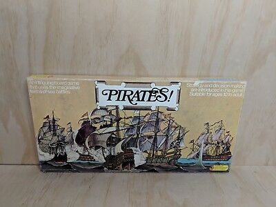 Vintage 1973 Pirates Strategy Board Game - Jigsaw Puzzles