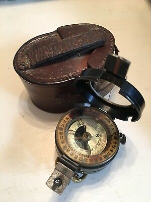 WW1 British Military Prismatic Compass By J H Steward London