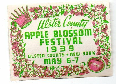 Ulster County (New York) Apple BlossomFestival Poster stamp