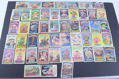 Vintage Garbage Pail Kids Lot of 48 From 1986 1987 GPK