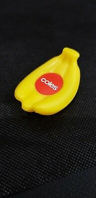 Coles Little Shop - BANANAS (Mini Collectable)