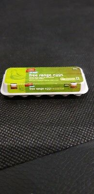 Coles Little Shop - FREE RANGE EGGS (Mini Collectable)