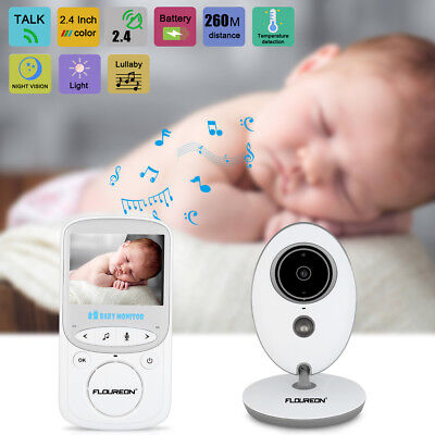2.4'' LCD Baby Pet Monitor Wireless Digital Audio Video Camera Security 2WayTalk