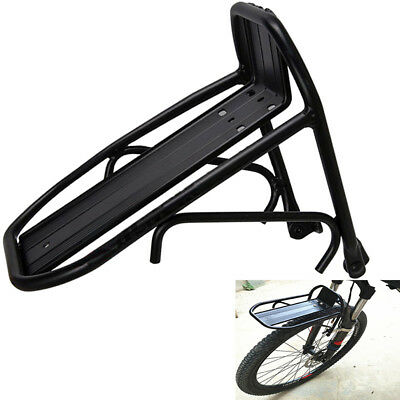 Aluminum Bicycle Bike Front Rear Rack Carrier Luggage Cargo Panniers Bag Shelf