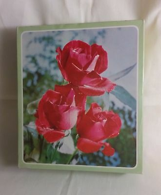 Griffin's NZ old cardboard biscuit box container NZ Griffins red roses on lid