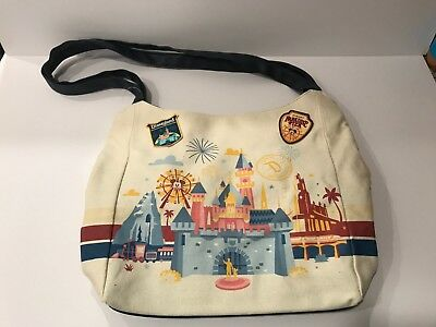 Disney Parks 2018 Discover The Magic Canvas Tote Bag NWT - NEW