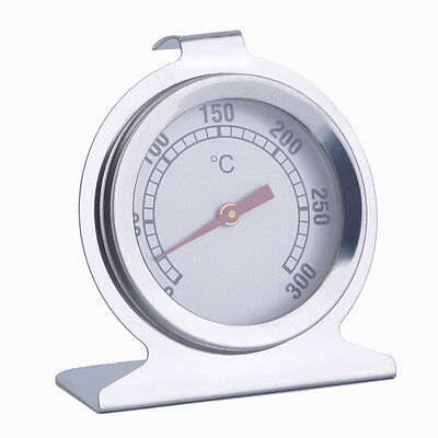 Stainless Steel Oven Thermometer Kitchen Cooking Meat Tool 300??C New UOC