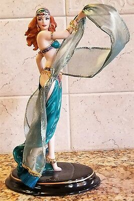 Collectible Franklin Mint Female Figurine Dance of The Seven Veils
