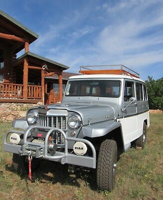 1960 Willys 439  Willys station wagon