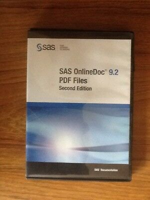 SAS OnlineDoc 9.2 PDF Files Second Edition