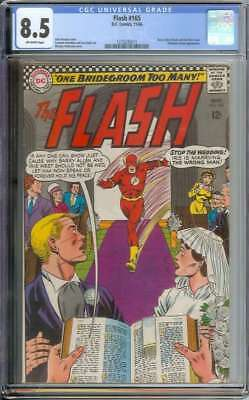 Flash #165 Cgc 8.5 Ow Pages