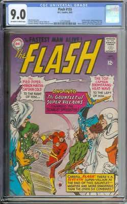 Flash #155 Cgc 9.0 Ow/wh Pages
