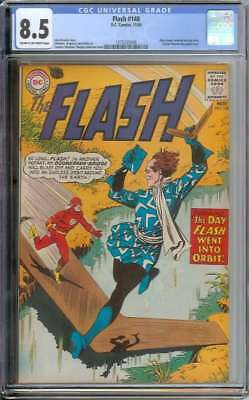 Flash #148 Cgc 8.5 Cr/ow Pages