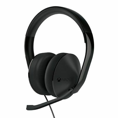 OFFICIAL Microsoft Xbox One Stereo Headset (Black) - Headset Only