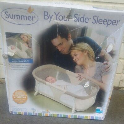 Baby By Your Side Sleeper - Infant Cot - Travel Bed - Summer