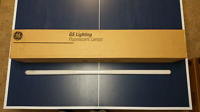 CASE OF 30 NEW GE fluorescent light bulbs F34CW/RS/WM/ECO T12 34W 4ft