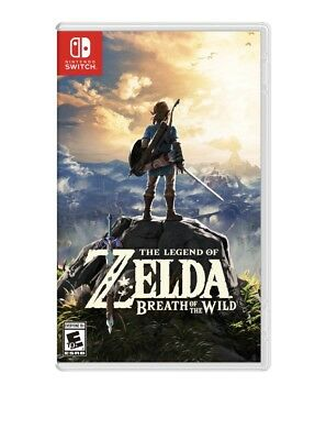 NEW! Legend of Zelda: Breath of the Wild -- Explorer's Edition (Nintendo Switch)