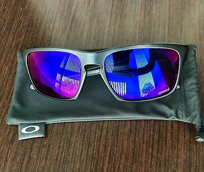 Oakley Marc Marquez Sliver Matte Black + Red Iridium 9262-20