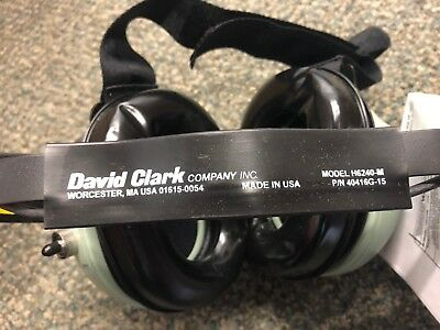 David Clark Model H6240-M, P/N 40416G-15 - Behind the Head (BTH) Modular Headset