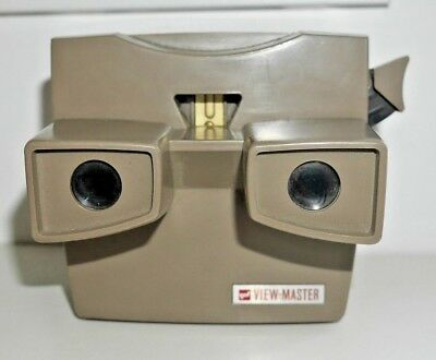 Gaf Viewmaster Lighted Stereo Viewer Original 1966-81 Model H Rare Working  B298