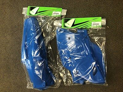 Kawasaki Kx125-250 (92-93) Ufo Rear Fender And Sidepanels, Blue, Brand New!!