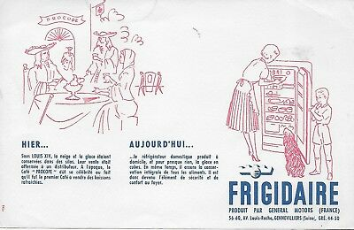 Refrigerateurs Frigidaire General Motors France   Louis Xv  Cafe Procope