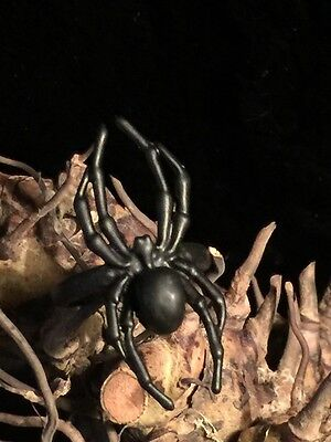 Wicked Black Spider Ring Wicca Pagan Occult Witchcraft Spider Jewelry