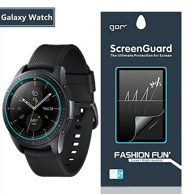 2×Film Protective Screen Protector Soft PET For Samsung Galaxy Watch 42mm 46mm