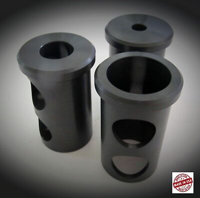 """3 New J Style Tool Holder Bushing 1 1/2"""" O.D.  1"""", 5/8"""", 1/2""""  I.D. GREAT DEAL"""