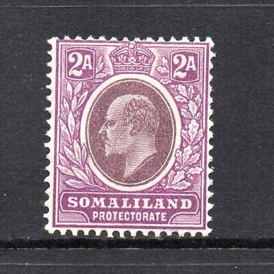 Somaliland Protectorate - 1905-11,  2a Dull & Bright Purple (sg47) Mint