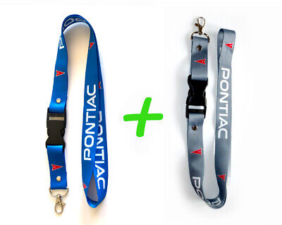 2x SCION Lanyards 1 inch x 22 inch KeyChain ID Badge Cardholder Navy and White
