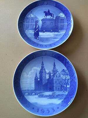 Lot of 15 CHRISTMAS PLATE-ROYAL COPENHAGEN by ROYAL COPENHAGEN