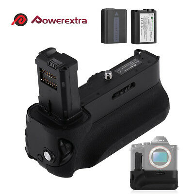 VG-C1EM Vertical Battery Grip Replacement for Sony A7/A7S/A7R+ 2 NP-FW50 Battery