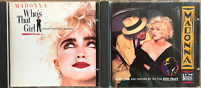 Madonna - 2 Original CDs - Who´s that girl und I´m breathless