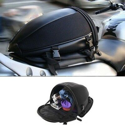 Motorcycle Bike Rear Trunk Waterproof Back Seat Carry Luggage Tail Bag