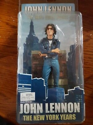 """NECA John Lennon The New York Years 7"""" Figure The Beatles New In Package"""